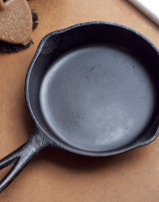 how to get cooked on grease off pans