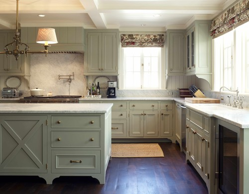 Good News If Youu0027re Already Thinking About Switching Up Your Color Scheme: Kitchen  Colors Are Changing, According To Interior Designer Jane Lockhart.