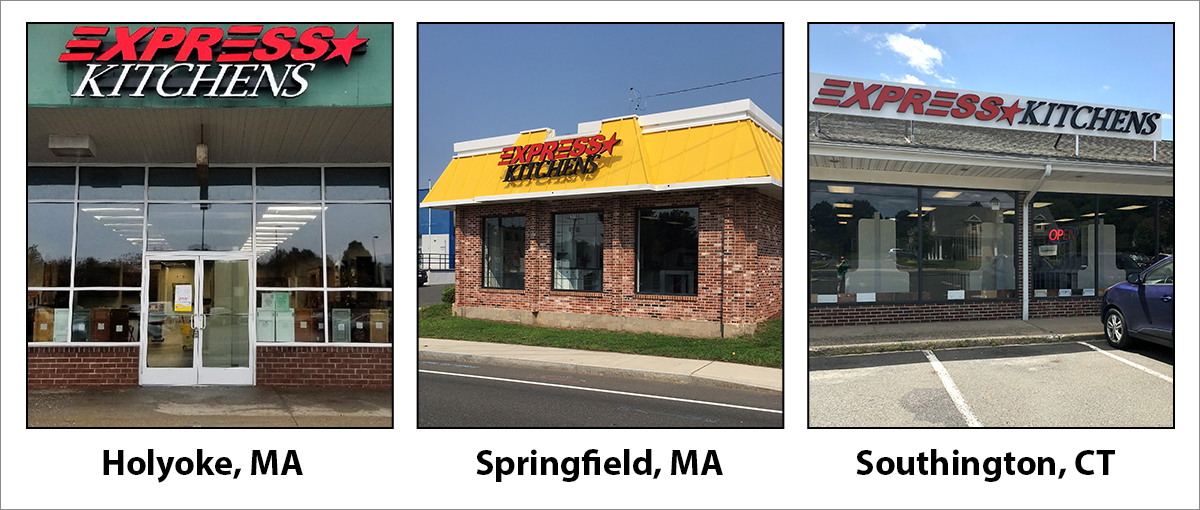 Grand Opening of Express Kitchens Stores at 3 New